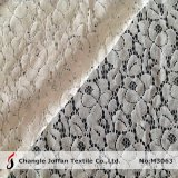 Tessuto di nylon del merletto del cotone di vendita calda per l'indumento (M3063)
