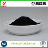 Pó de carvão ativado com qualidade alimentar