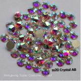 pegamento grande del arte del clavo del Ab del cristal de 5A nuevos Facted 8 8 pequeño Ss20 4.8-5.0m m en no los Rhinestones de Hotfix (FB-SS20 cristal ab/5A)