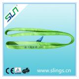 Tipo infinito imbracatura di sollevamento del poliestere dello Synthetic di Sln 100% della tessitura