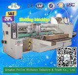 1 automático de la serie de papel corrugado caja de cartón mortajar máquina