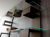 6m m, 8m m, 10m m, 12m m templaron el vidrio del estante para la ducha, Furinture