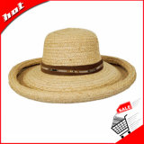 يوسع حافة قبعة ليّنة يهدّب قبعة