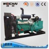 세트를 생성하는 Weichai 디젤 엔진 300kw 375kVA 물에 의하여 냉각되는 힘