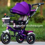 Nuevo diseño del asiento 360 grados de Turing del triciclo del bebé del bebé de Trike