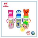 Grandi bottiglie di alimentazione del bambino di formato pp con la protezione animale bella