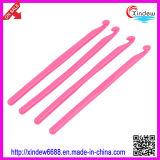 Fio de algodão de bambu de confeção de malhas plástico do fio extravagante das agulhas