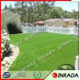 Grama artificial do jardim do relvado para a decoração da paisagem