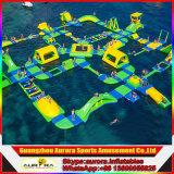 O melhor parque de flutuação inflável gigante de venda da água, equipamento do parque do Aqua, parque de diversões da água