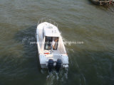 Barco de pesca de Walkaround com cabine