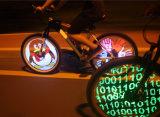 [دي&160]; درّاجة خفيفة قابل للبرمجة درّاجة مكبح درّاجة عجلة [لد] خفيفة مزدوجة [سد سكرين] [ديسبلي يمج] لأنّ ليل ينهي