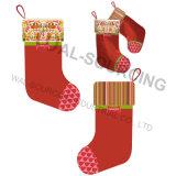 Media promocional del fieltro del regalo de la Navidad con la cinta