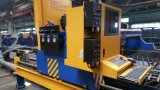 Machine de découpage de plasma de flamme de commande numérique par ordinateur de portique pour le métal plat