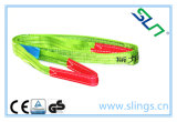 Bride plate de sangle de fibre de Sln Synthectic avec le GS de la CE de yeux
