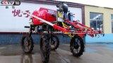 Pulverizador do crescimento da maquinaria agricultural da potência do TGV do tipo 4WD de Aidi para o campo de almofada e o Farmlandand