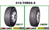 Ventas radiales del neumático de la marca de fábrica del neumático del fabricante del avión transcontinental 315 neumáticos 70r22.5