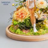 Regalo creativo dei fiori per il compleanno di giorno del biglietto di S. Valentino