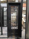 Puerta principal del hierro de la tapa plana sola (UID-S048)