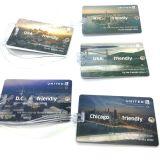 Reisebüro-Fluglinie Belüftung-Gepäck-Marke mit Unterzeichnung-Panel