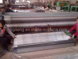 Azulejo de material para techos acanalado galvanizado del metal de la hoja de acero de la INMERSIÓN caliente