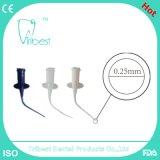 Jeringuilla principal de goma disponible dental 1ml