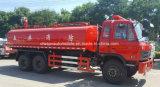 Motor de incêndio 20000 litro de Dongfeng 6X4 caminhão resistente do transporte de petroleiro da água