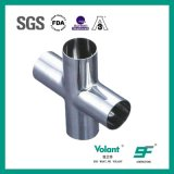 Stainless Steel Sanitary Welded Cross Pipe Fittings