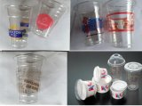 Plastikcup-Offsetdrucken-Maschine mit Farbe 4