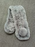 Bufanda colorida de la piel del conejo de Rex en venta