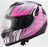 オートバイの使用のために証明される点が付いている流行のヘルメット
