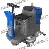 Conduite industrielle de matériel de nettoyage de machine à laver d'étage sur l'épurateur d'étage
