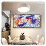 La toile estampe les illustrations de peinture de toile encadrées par décor d'art de mur d'illustrations pour la maison, bureau, hôtel, restaurant