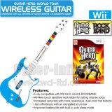 Held 4 van OtGuitar Draadloos Controlemechanisme voor de Reeks van de Held van de Gitaar Wii & Klein Meubilair Rockbandher (BT-H002)