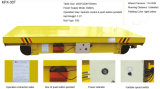 Carrello di trattamento elettrico della fabbrica di alluminio a pile sulle rotaie