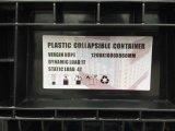 caixa 1200X1000 de dobramento plástica resistente