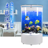 Tank van de Vissen Eco van de Halve cirkel van de Woonkamer van de douane de Creatieve Acryl