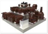 Lzzbj6-12A \ Lzzbj6-12b \ Lzzbj6-12c Current Transformer 12kv Indoor単一PhaseのEpoxy Resin Type