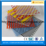 En12150, BSI, SGCC, Csi Certificated, 3 - 19mm con Customized Pattern Tempered Ceramic Glass