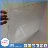 Panneau solide de polycarbonate d'anti de choc dessus de toit ignifuge en cristal de baisse