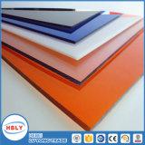 UVProtetion Farben-Sonnenschutz PET Feuerfestigkeit-festes Polycarbonat-Panel