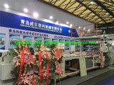 光沢度の高い紫外線装飾的なPVC大理石シートの生産ライン
