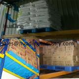 1100*1100 de op zwaar werk berekende Vlotte Plastic Pallet van het Dek