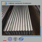 Feuille de toiture d'onde en métal faite de SGCC