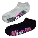 Uomini Women Cotton Anti-Slip Sports Socks per Trampoline (as-08)