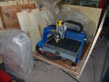 CNC 기계를 새기는 목제 대패 4 축선 회전하는 CNC