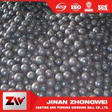 Bille de meulage moyenne d'acier de bâti d'alliage de chrome d'usine de bille en acier