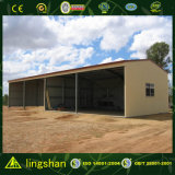 Entrepôt en acier préfabriqué de ferme de Chambre