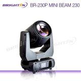 O mais compacto 230W 7r Beam Moving Head Stage Light
