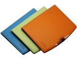 A4 plutônio Leather Conference Folder com Calculator - F101