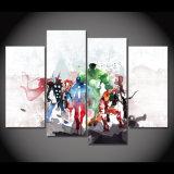HDはキャンバスの装飾プリントポスター映像キャンバスによって組み立てられたMc095で報復者の水彩画の絵画絵画を印刷した